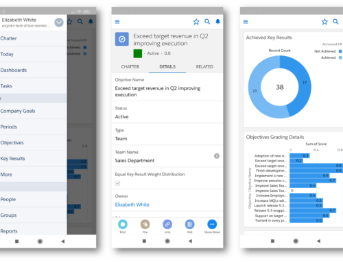 OKR and Mobile Support in Salesforce 📱