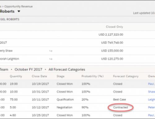 How to setup Sales Team Quota inSalesforce