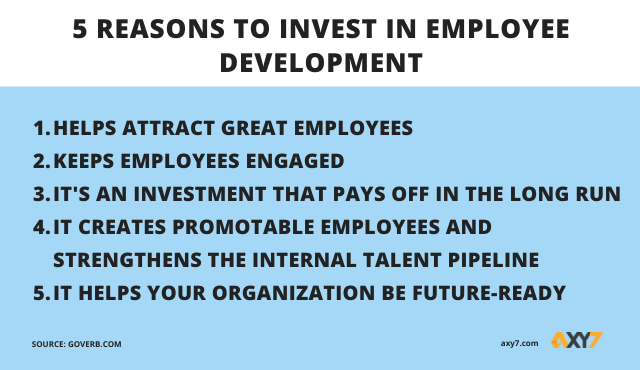 Reasons to invest in employees